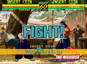 Art of Fighting 3: The Path of the Warrior (Korean version) Screenshot
