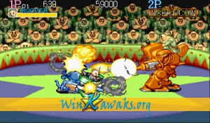 Captain Commando (Japan 911202) Screenshot