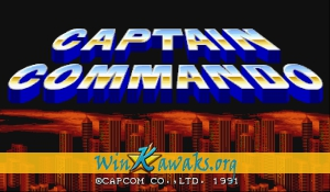 Captain Commando (Japan 911202)