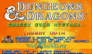 Dungeons and Dragons: Shadow over Mystara (Euro 960619)
