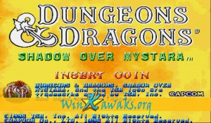 Dungeons and Dragons: Shadow over Mystara (Brazil 960223)