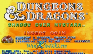 Dungeons and Dragons: Shadow over Mystara (Euro 960223)