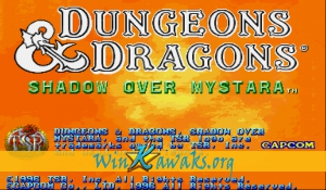 Dungeons and Dragons: Shadow over Mystara (Euro 960209)