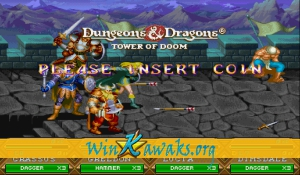 Dungeons and Dragons: Tower of Doom (Asia 940412) Screenshot