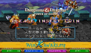 Dungeons and Dragons: Tower of Doom (Japan 940125) Screenshot