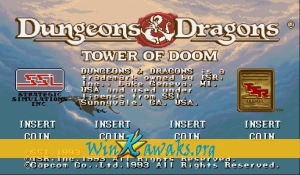 Dungeons and Dragons: Tower of Doom (Japan 940125)