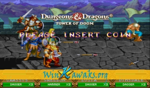 Dungeons and Dragons: Tower of Doom (Euro 940113) Screenshot