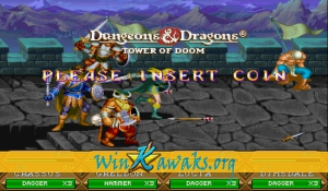 Dungeons and Dragons: Tower of Doom (US 940125) Screenshot