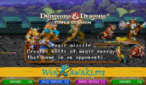 Dungeons and Dragons: Tower of Doom (US 940113) Screenshot