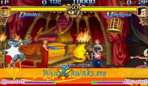 Darkstalkers: The Night Warriors (Euro 940705) Screenshot