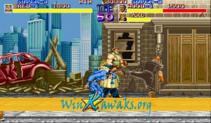 Final Fight (Japan hack) Screenshot