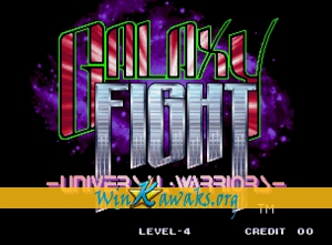 Galaxy Fight: Universal Warriors  (Misses rasters)