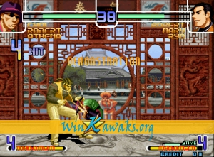 The King of Fighters 2002 Plus (hack 1) Screenshot