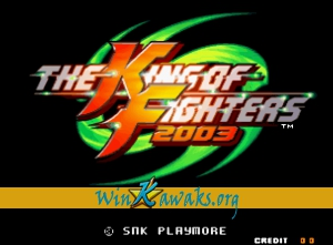The King of Fighters 2003 (dedicated PCB)