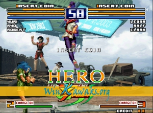 The King of Fighters 2004 EX Hero (hack) Screenshot