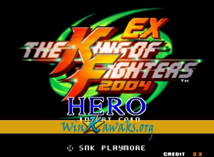 The King of Fighters 2004 EX Hero (hack)