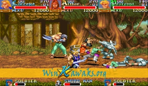 Knights of the Round (Japan 911127) Screenshot
