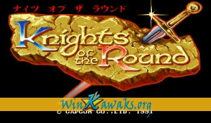 Knights of the Round (Japan 911127)