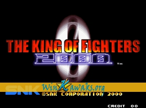 The King of Fighters 2000 (non encrypted P)