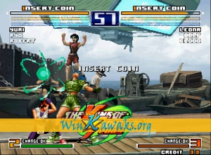 The King of Fighters 2003 (decrypted C) Screenshot