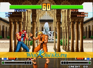 The King of Fighters '98: The Slugfest (alt) Screenshot