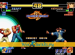 The King of Fighters '99: Millennium Battle (prototype) Screenshot