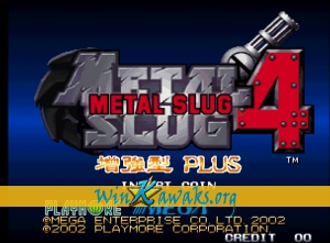 Metal Slug 4 Plus (hack)