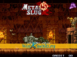 Metal Slug 5 (dedicated PCB) Screenshot
