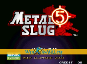 Metal Slug 5 (dedicated PCB)