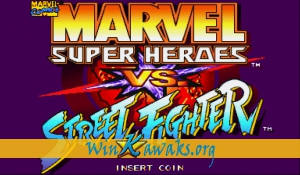 Marvel Super Heroes Vs. Street Fighter (Hispanic 970625)