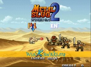 Metal Slug 2: Super Vehicle-001/II Screenshot