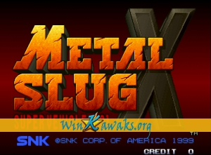 metal slug x kawaks