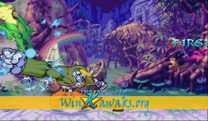 Night Warriors: Darkstalkers Revenge (Hispanic 950403) Screenshot
