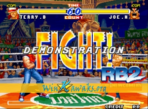 Real Bout Fatal Fury 2: The Newcomers Screenshot