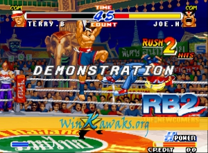 Real Bout Fatal Fury 2: The Newcomers (set 2) Screenshot