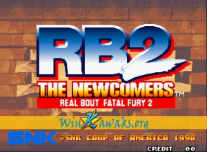 Real Bout Fatal Fury 2: The Newcomers (set 2)