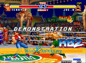 Real Bout Fatal Fury 2: The Newcomers (Korean version) Screenshot