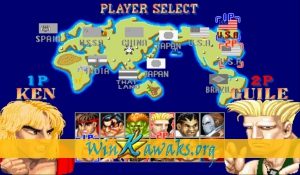 Street Fighter II' - Champion Edition (World 920513) Screenshot
