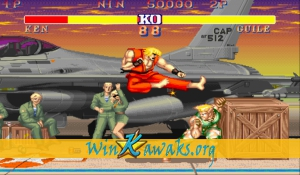 Street Fighter II' - Champion Edition (World 920313) Screenshot