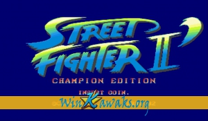 Street Fighter II' - Champion Edition (World 920313)