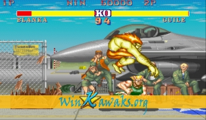 Street Fighter II - The World Warrior (Japan 910522) Screenshot