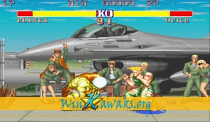 Street Fighter II - The World Warrior (Japan 920312) Screenshot