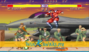 Street Fighter II' - Champion Edition (Koryu) Screenshot