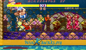 Street Fighter II' - Champion Edition (Red Wave) Screenshot