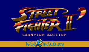 Street Fighter II' - Champion Edition (Red Wave)