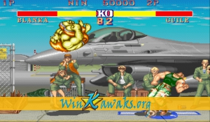 Street Fighter II - The World Warrior (US 910214) Screenshot