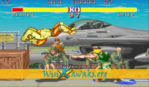 Street Fighter II - The World Warrior (US 910522 G) Screenshot