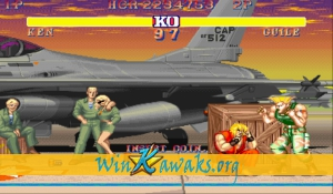 Street Fighter II' - Champion Edition (YYC) Screenshot