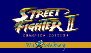 Street Fighter II' - Champion Edition (YYC)