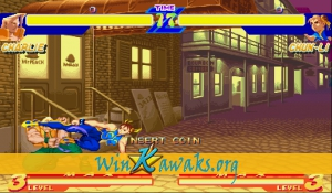 Street Fighter Alpha: Warriors' Dreams (US 950627) Screenshot